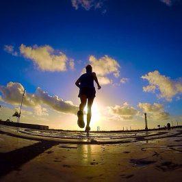 Treino de 10 km de olho na maratona Maurício de Nassau