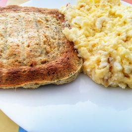 Receita de pãozinho de microondas low carb sem trigo | Paleo