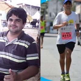 A corrida salva vidas! Menos 42 kg e adeus ao alcoolismo.
