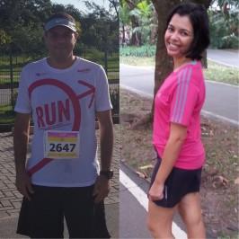 Juntos, Dani e Paulo já emagreceram mais de 30kg.